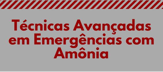 Técnicas avançadas em emergências com amônia